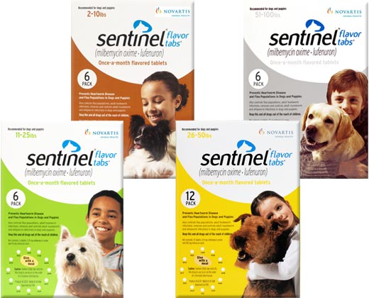 Sentinel Flavor Tabs for Dogs