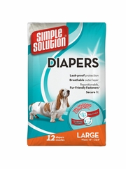 Simple Solution Disposable and Washable Diapers