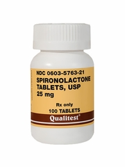 Spironolactone 25mg (per tablet) (Manufacturer may vary)