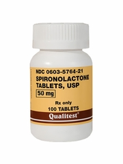 Spironolactone 50mg (per tablet) (Manufacturer may vary)