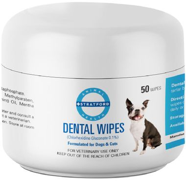 Stratford Chlorhexidine Dental Wipes 50 Count On Sale Entirelypets Rx