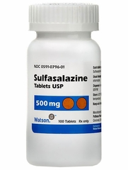 Sulfasalazine (Manufacturer may vary)