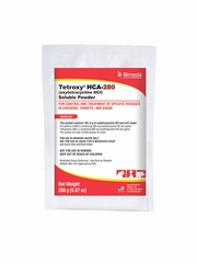 Tetroxy HCA-280 Soluble Powder (Oxytetracycline HCl) - 280gm