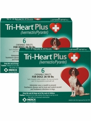 Tri-Heart Plus for Dogs 26-50 lbs (12 Chew Tabs)