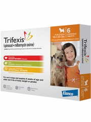 Trifexis For Dogs - 10.1-20 lbs (6 Chew Tabs)