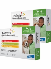 Trifexis For Dogs - 20.1-40 lbs (12 Chew Tabs)