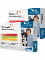 Trifexis For Dogs - 40.1-60 lbs (12 Chew Tabs)