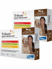 Trifexis For Dogs - 60.1-120 lbs (12 Chew Tabs)