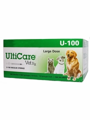 "Ulticare [U-100] Insulin Syringes 0.5cc - 28g x 0.5"" (100 count)"
