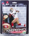 Colin Kaepernick (San Francisco 49ers - White Jersey) NFL 33 McFarlane Exclusive