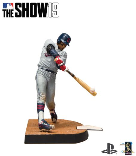 "Francisco Lindor (Cleveland Indians) MLB The Show 19 7"" Figure"