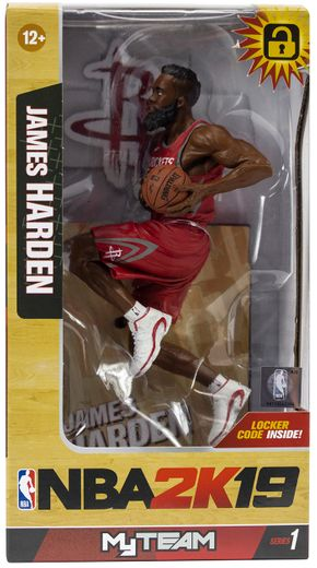 JAMES HARDEN (Houston Rockets) McFarlane NBA 2K19 Series 1