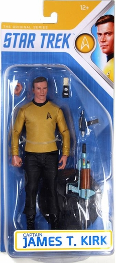 "James T Kirk (Star Trek) 7"" Action Figure by McFarlane"