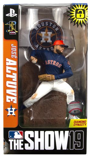 "Jose Altuve (Houston Astros) MLB The Show 19 7"" Figure"