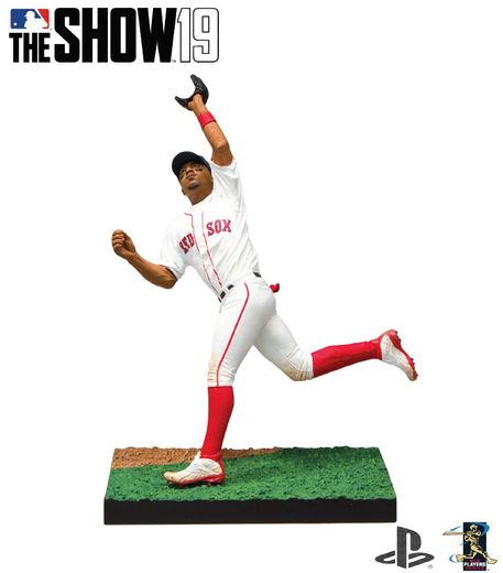 "Mookie Betts (Boston Red Sox) MLB The Show 19 7"" Figure"