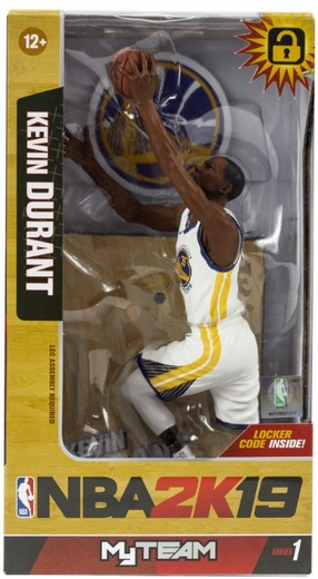 KEVIN DURANT (Golden State Warriors) McFarlane NBA 2K19 SERIES 1