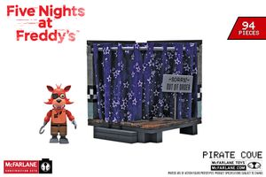Pirate Cove w/ Foxy (Five Nights at Freddy's) Small Construction Set by McFarlane