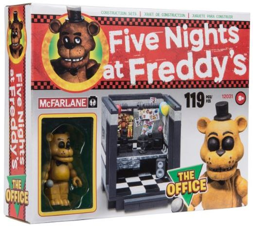 The Office w/ Golden Freddy (Five Nights at Freddy's) Small Construction Set by McFarlane