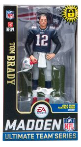 Tom Brady (New England Patriots) EA Sports Madden NFL 19 Ultimate Team Series 2 McFarlane
