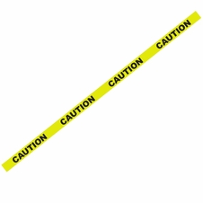"1000' x 3"" Caution Yellow Barricade Tape"