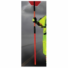 "Forester Adjustable Flaggers Pole - 46"" to 84"""