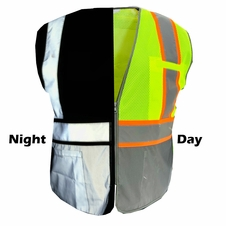 Forester Bee Hi-Viz Day and Night Reflective Vest