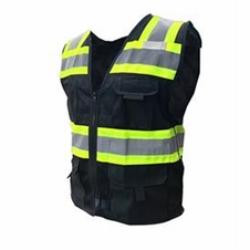 Forester Class 1 Sleeveless Surveyor Vest - Black