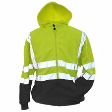 Forester Double Weight Class 3 Hi-Vis Hooded Sweatshirt