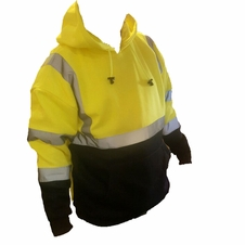 Forester Double Weight Class 3 Hi-Vis Pullover Hooded Sweatshirt