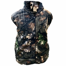 Forester Heavy Weight Polar Fleece Camo Vest