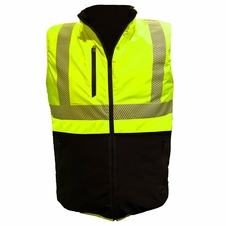 Forester Hi-Vis Class 2 Reversible Insulated Vest