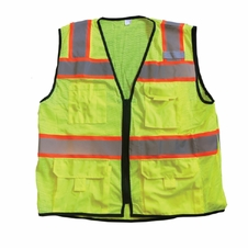 Forester Hi-Vis Class 2 Sleeveless Surveyor Vest