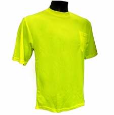 Forester Hi-Vis Safety T-Shirt - Safety Green