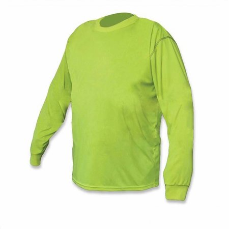 Forester Premium Safety Green Long Sleeve Shirt
