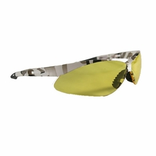 Forester Snow Camo ANSI Safety Glasses