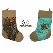Realtree&reg Camo Christmas Stocking