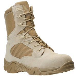 Bates E02276 GX-8 Men's Desert Tan Composite Toe Side Zip Boot
