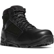 Danner 23821 Men's Lookout 5.5 inch Waterproof Composite Toe Side Zipper Black Duty Boot
