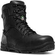 Danner 23826 Men's 8 inch Lookout EMT CSA Certified Waterproof Composite Toe Side Zipper Black Duty Boot