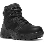 Danner 25731 Men's Scorch Waterproof 6 inch Side Zip Black Duty Boot