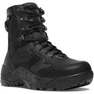 Danner 25733 Men's Scorch Waterproof 8 inch Side Zip Black Duty Boot