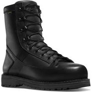 Danner 26225 Men's Stalwart 8 inch Full Leather Side Zip Waterproof Black Duty Boot