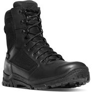 Danner 23824 Men's 8 inch Lookout Waterproof Side Zip Black Duty Boot