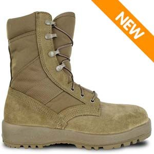 McRae 8989 Men's Mil-Spec Hot Weather Steel-toe Boot Coyote Brown Boot