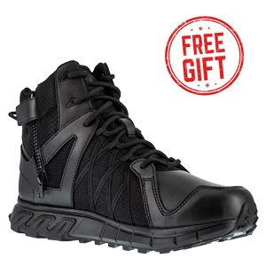 Reebok RB3450 Men's Trailgrip 6 inch Waterproof Side Zip Tactical Boot