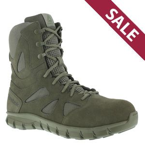 Reebok RB8882 Men's Sublite Cushion USAF Sage Green Tactical Boot