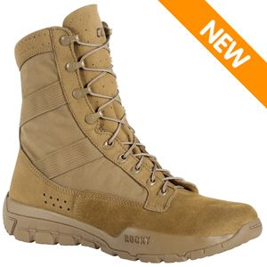 Rocky RKC087 Men's C4R Hot Weather Coyote Brown OCP ACU Tactical Boot