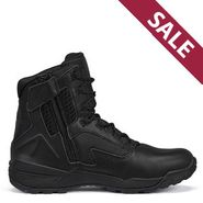 Tactical Research TR1040-ZWP Men's 7 inch Ultralight Waterproof Side Zip Black Tactical Boot
