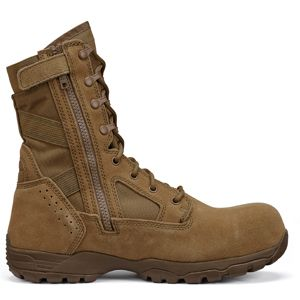 Tactical Research TR596Z CT Men's Coyote Brown Hot Weather Side Zip Composite Toe OCP ACU Military Boot