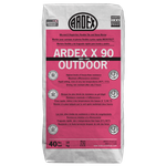 ARDEX X 90 OUTDOOR MicroteC3 Rapid-Set, Flexible Tile and Stone Mortar - White - 40 lb Bag